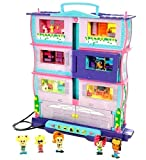 Complete Set Pixel Chix Roomies - House + 4