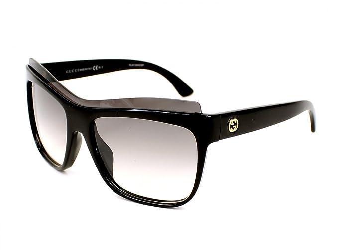 Gucci GG 3782/S Gafas de sol, Black, 57 para Mujer: Amazon ...