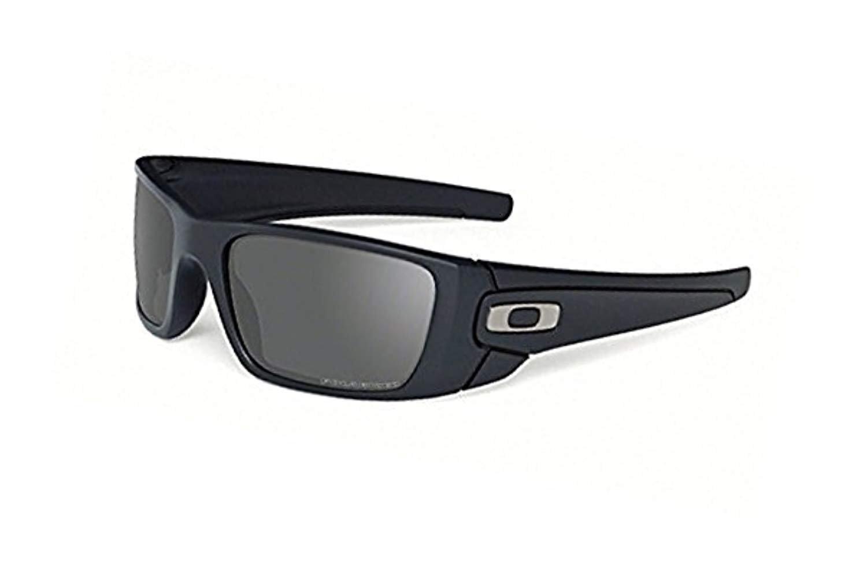 Oakley Fuel Cell Sunglasses Matte Black/Grey Polarized & Cleaning Kit Bundle by Oakley
