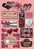 Karen Foster Design Acid and Lignin Free Scrapbooking Sticker Sheet, Heart of My Heart