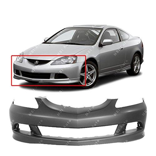 Bumper Rsx Acura (MBI AUTO Primered, Front Bumper Cover Fascia for 2005 2006 Acura RSX 05 06, AC1000154)