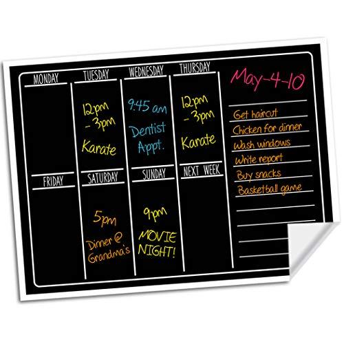 Dry Erase Chalkboard Wall Calendar - 15