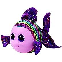TY Beanie Boos - FLIPPY Multicolored Fish LARGE Plush