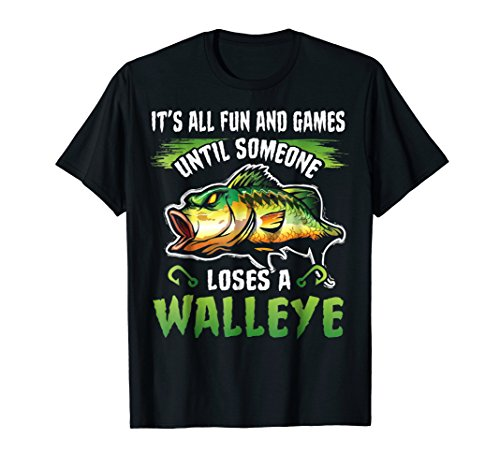 Funny Walleye Fishing T-Shirt ()
