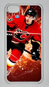 MICHAEL CAMMALLERI CALGARY FLAMES Custom PC Transparent Case for iPhone 5C by icasepersonalized