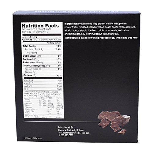 ProtiWise - High Protein Chocolate Soy Snacks by ProtiWise - By Doctors Best Weight Loss (Image #1)
