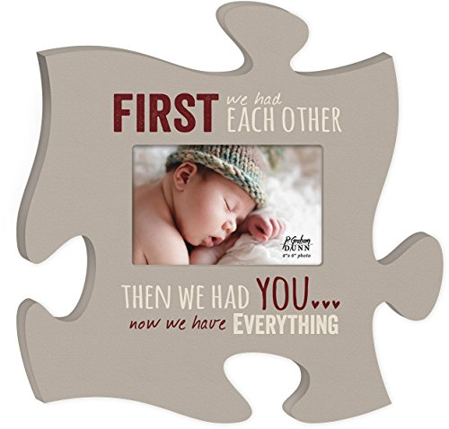 Now We Have Everything 4x6 Photo Frame Inspirational Puzzle Piece Wall Art Plaque by P Graham Dunn