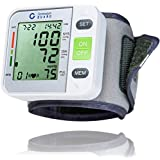Clinical Automatic Blood Pressure Monitor FDA Approved by Generation Guard with Large Screen Display Portable Case Irregular Heartbeat BP and Adjustable Wrist Cuff Perfect for Health Monitoring