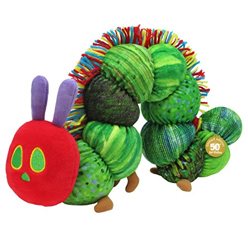 World of Eric Carle,The Very Hungry Caterpillar 50th Anniversary Plush, 7.5