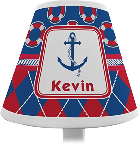 Buoy-Argyle-Print-Chandelier-Lamp-Shade-Personalized