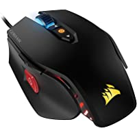 CORSAIR M65 Pro RGB-FPS Gaming Mouse-12,000 DPI Optical Sensor-Tunable Weights-Black