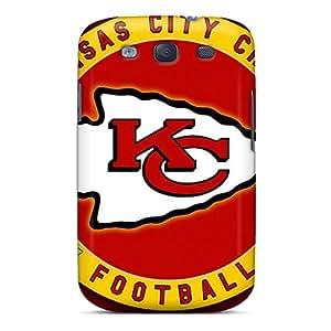 Samsung Galaxy S3 PZO19999TeLz Allow Personal Design Nice Kansas City Chiefs Pattern Excellent Hard Phone Cover -KaraPerron