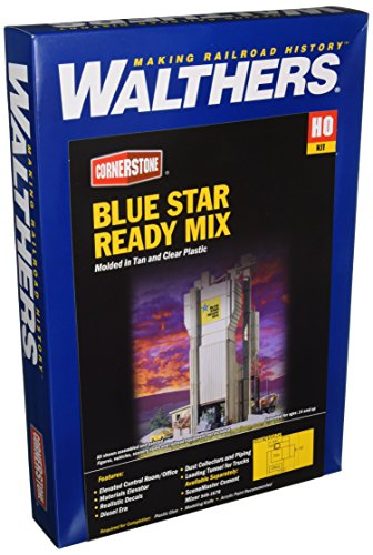 (Walthers Cornerstone Blue Star Ready Mix Plant)