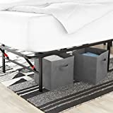 AmazonBasics Platform Bed Frame - Foldable, Under-Bed Storage, No Tools Required - Queen Variant Image