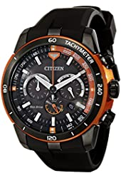 Citizen Eco-Drive Men's CA4154-15E Ecosphere Analog Display Black Watch