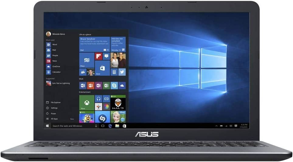 ASUS X540BA-RB94 15.6 inches Laptop AMD A9-9425 3.1 GHz 8GB 1TB HDD Radeon R5 Windows 10 (Renewed)