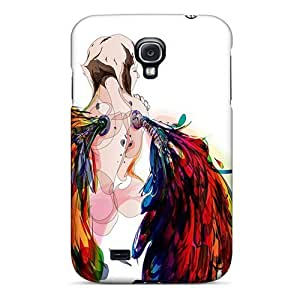 New Style New Starting Hard Case Cover For Galaxy S4- Rainbow Angel