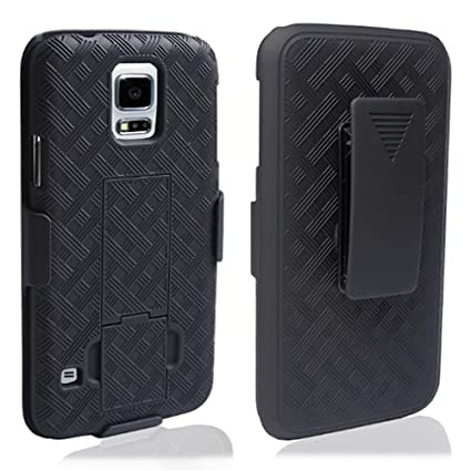 Amazon.com: Galaxy S5 Case – Enganche para cinturón carcasa ...