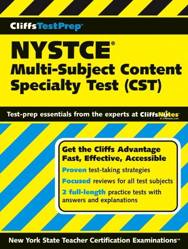 CliffsTestPrep NYSTCE: Multi-Subject Content Specialty Test ()