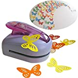 KREPLACEMENT@ Butterfly Paper Punch Cutter Tool Large Shape Craft DIY Puncher 3.7*2.6*2.6 inch