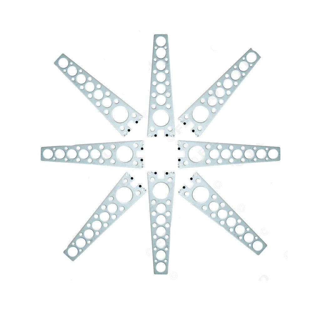 YUNRUX Universal Elektrische Fensterheber Fensterheber-Nachr/üstkit f/ür 2 T/üren Nachr/üsten mit Zubeh/örsatz 12V