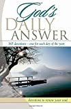 img - for God's Daily Answer....365 Devotions...One for Each Day of the Year: Devotions to Renew Your Soul by Elm Hill Books (2003-12-18) book / textbook / text book