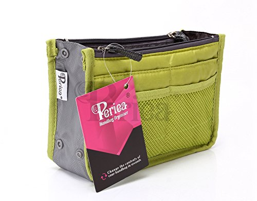 Periea Handbag Organizer - Chelsy (Small, Apple Green)