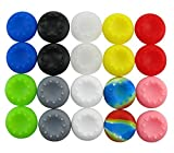 Cheap yueton 10 Pairs Colorful Silicone Accessories Replacement Parts Thumb Grip Cap Cover For PS2, PS3, PS4, XBox 360, XBox One Controller
