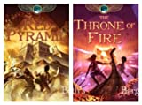 download ebook 2 books: kane chronicles series set - the red pyramid & the throne of fire (kane series) pdf epub