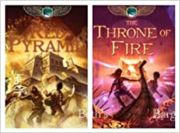 2 Books: Kane Chronicles Series Set - The Red Pyramid & The Throne ...
