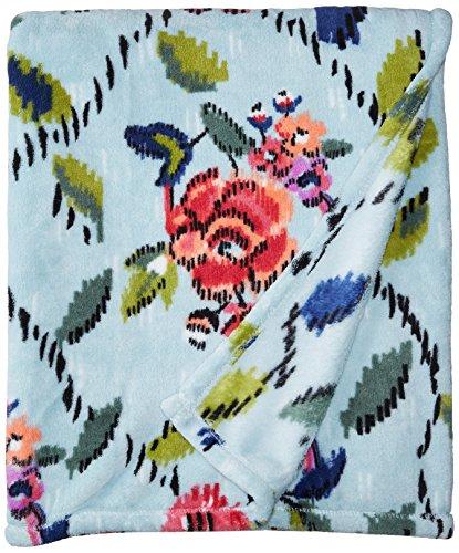 - Vera Bradley Throw Blanket, Fleece, Water Bouquet