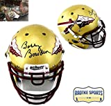 Bobby Bowden Autographed/Signed Florida State Seminoles Authentic Schutt Full Size NCAA Gold Helmet