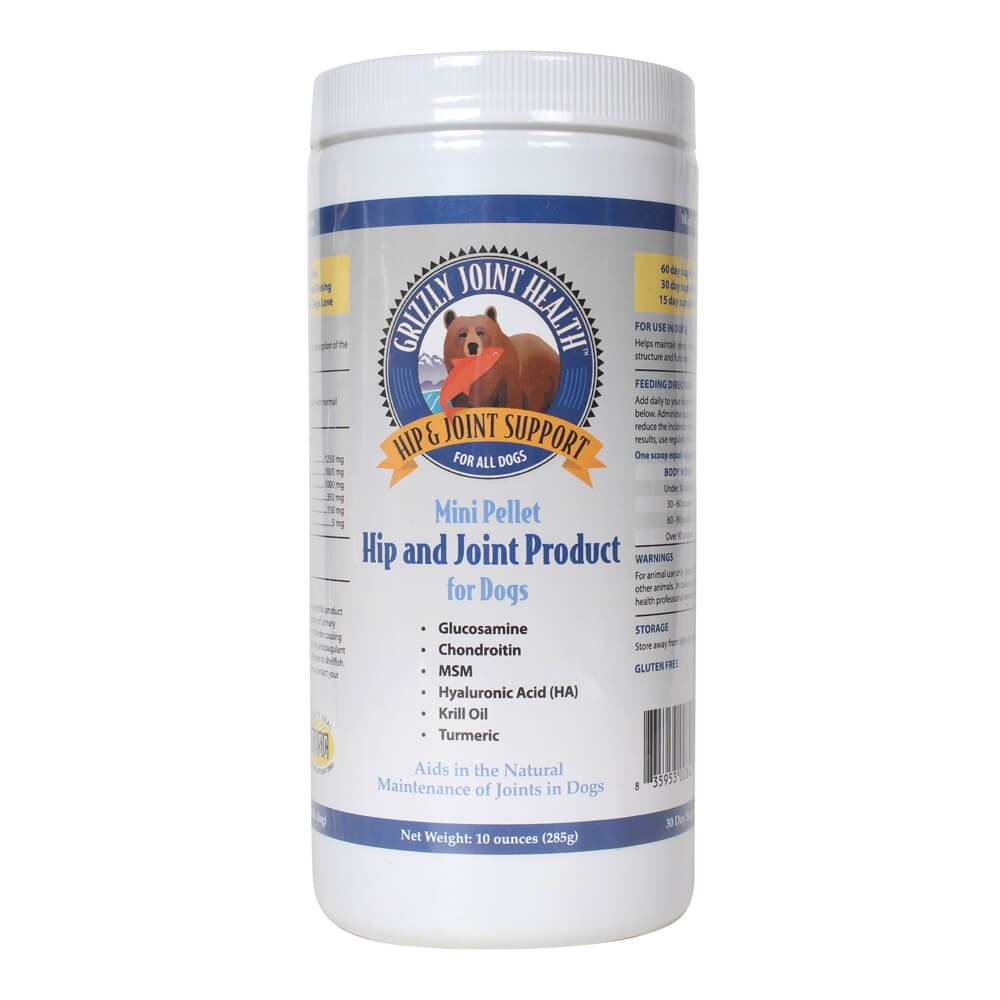 10 oz Grizzly Pet Products Grizzly Joint Health Mini Pellet, for Dogs, 10 oz