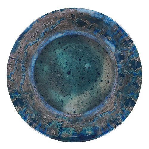 (Certified International Radiance Teal  Large Serving Bowl, 13.75