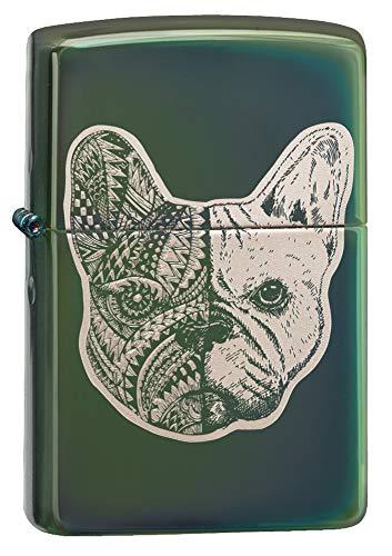 Zippo Lighter Bull - Zippo French Bulldog Design