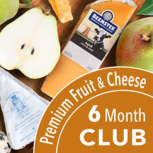 Golden State Fruit Monthly Fruit and Cheese Club (Premium Version) - 6 Month Club ()