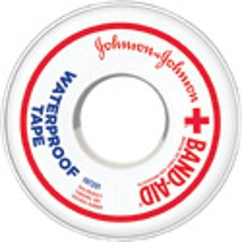 BAND-AID? Waterproof First Aid Tape 1 in. X 10 yd. (3 Pack) by J & J SALES & LOGISTICS CO by J & J SALES & LOGISTICS CO