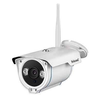 Amazon.com: BEESCLOVER Sricam SP007 1080P HD WiFi Cámara IP ...
