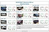 Jeep Mirrors JK JL TJ YJ CJ. Easy-Install Adventure