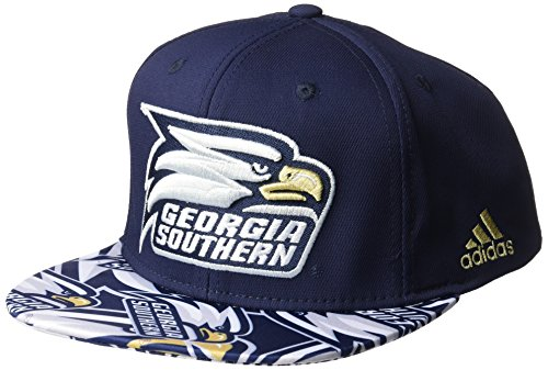 adidas NCAA Georgia Southern Eagles Men's Layered Snapback, Navy, One Size (Baseball Eagles Southern)