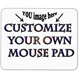 design your own mouse pad - Customize Your Own Mouse Pad - Add Pictures, Text, Logo Or Art Design and Make Your own Customized Mousepad - Gaming, Office, Mouse pad.