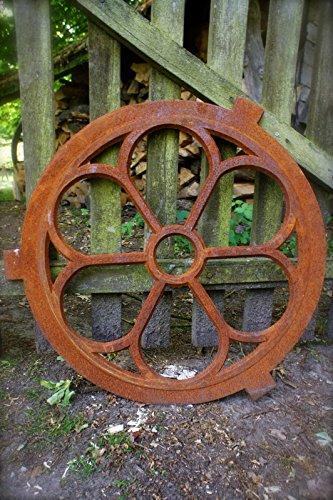 Antikas - ventana piná culo de hierro fundido - ventanas para el frontó n - marco redondo D60