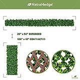 NatraHedge Artificial Ficus Leaf Expandable Lattice