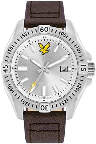 Armband- & Taschenuhren Lyle & Scott Ls-6010-01 Men Es Border White Dial Wristwatch Armbanduhren