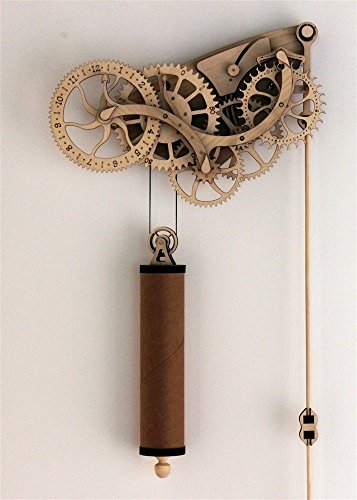 Abong Mechanical Wooden Clock Kit product image