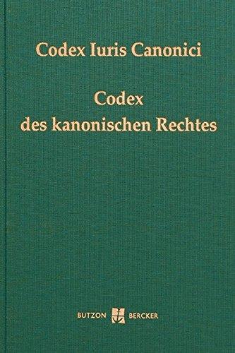 Codex Iuris Canonici  Codex Des Kanonischen Rechtes