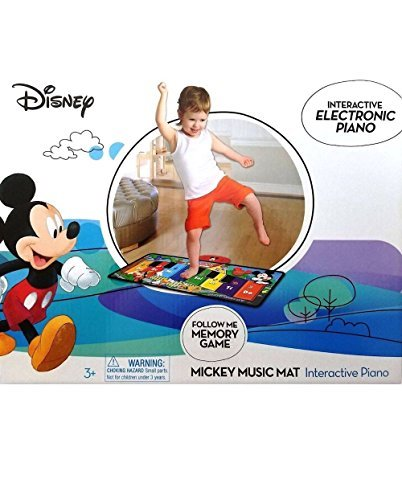 Disney Interactive Electronic Piano Mickey Music Mat by Unknown (Image #1)