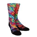 Rock Em Apparel Spectrum Lifestyle Originals Graphic Sock