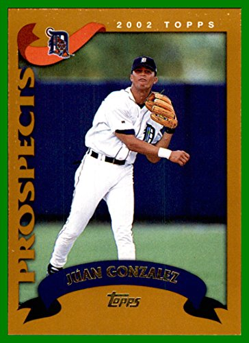 2002 Topps Traded #T214 Juan M. Gonzalez RC DETROIT TIGERS ROOKIE
