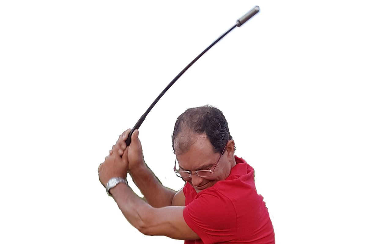 Indoor Golf Swing Trainer, PGA Endorsements, 4 strokes off over 18 holes, 90 day GUARANTEE! by Golf Swing Right Now (Image #5)